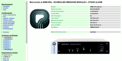 New features SMM-8SA