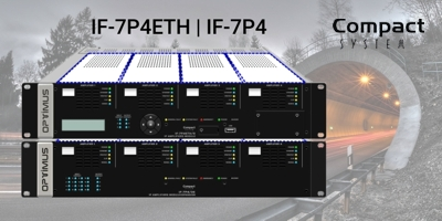 IF-7P4ETH - Modular IP Amplifier of COMPACT series