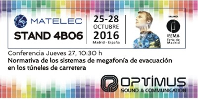 Optimus en MATELEC2016