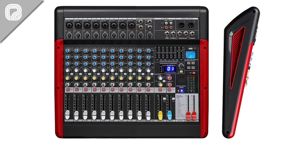 MX-12FX | 12 channel mixing table